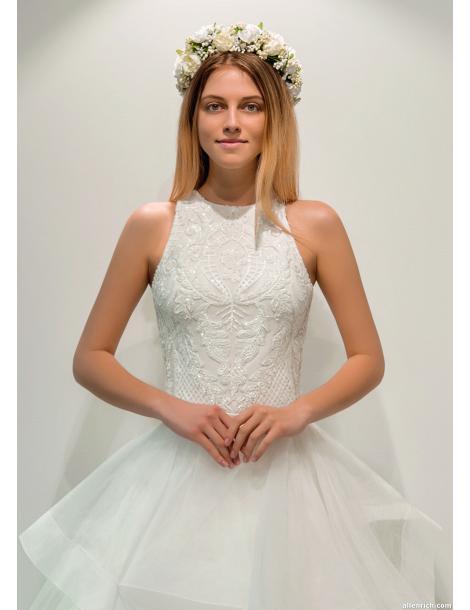 Wedding dress DEVILA (body+ skirt) white