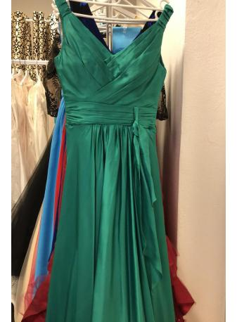 Evening dress ELISE green