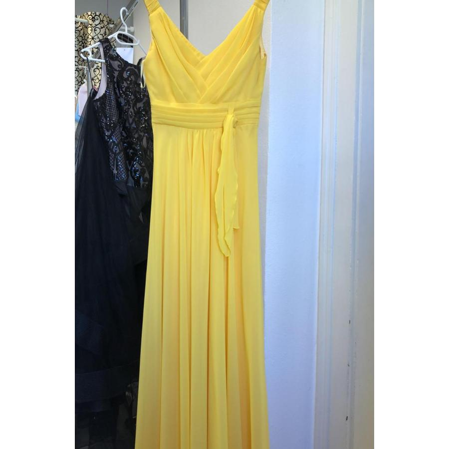 Evening dress ELISE yellow